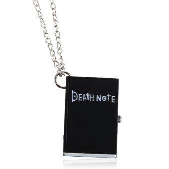 Harga Chic Death Note Caic Fahion Quartz Pockset Watch Pendant Neckace Back