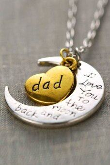 "Harga Jetting Buy Necklace Charm Pendant ""I LOVE YOU "" Dad"
