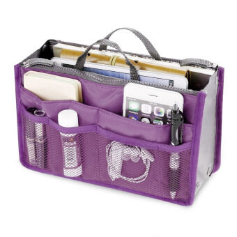 Harga PAlight Cosmetic Pouch Organizer Storage bag (Purple)