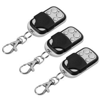 Harga 3x Mini Universal Cloning Remote Control Key Fob for Car Garage Door Gate HS760