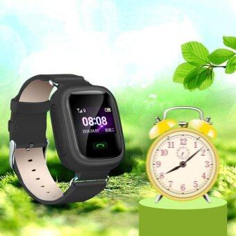 Harga Q60 0.99' Inch Smart Watch SOS Anti-lost Children for Android iOS Black - intl