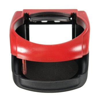Harga Plastic Car Water Bottle Can Coffee Drink Cup Stand Holder Red - intl