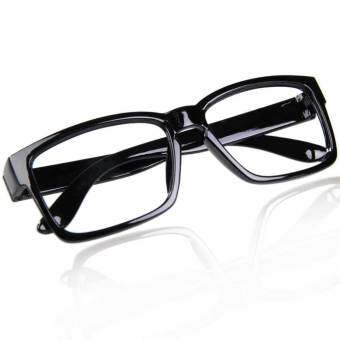 Harga Chic Unisex Glasses Frame (Black)