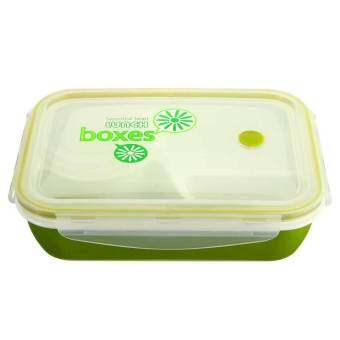 Harga Kids Soup Bowl Spoon Food Picnic Container Lunch Bento Box Microwave Tableware Green