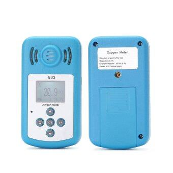Harga Oxygen Meter Portable Oxygen(O2) Concentration Detector with LCD Display and Sound-light Alarm