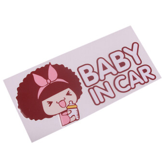 Harga HengSong Car Stickers Accessories Baby On Road Muticolor - intl