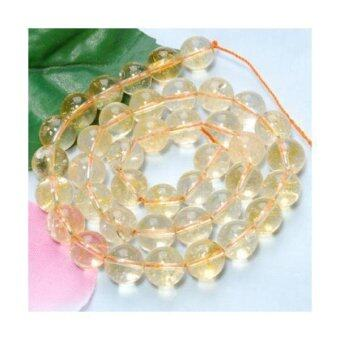Harga Crystal Round Gemstone Loose Beads Strand 10mm / 15.5 Inch