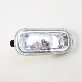 Harga For Audi A4 B6 B7 A6 C5 Side Marker Light Housing Cap Clear Lens Len - intl