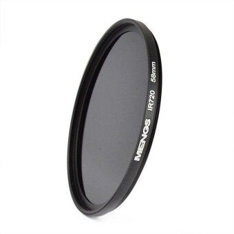 Harga MENGS® 58mm IR720nm Infrared Lens Filter With Aluminum Frame For Canon Nikon Sony Pentax Olympus Etc DSLR