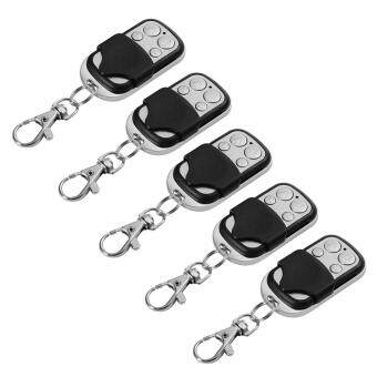 Harga 5x Mini Universal Cloning Remote Control Key Fob for Car Garage Door Gate