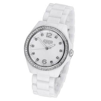 Harga Product details of COACH WOMEN'S WATCH TRISTEN 14501807 - Silver