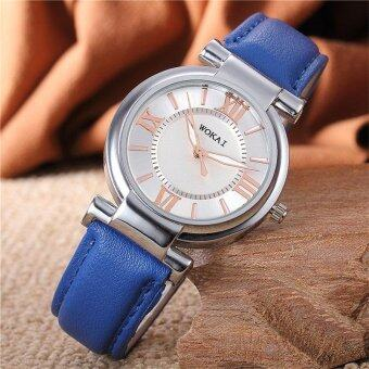Harga YBC New Women Classic Fashion Casual Quartz PU Leather Wristband Watches - intl