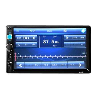 "Harga 2DIN 7.0"" HD In Dash Car TouchScreen Bluetooth Stereo MP3 MP5 - intl"