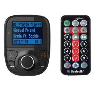 Harga 9Final Handsfree Bluetooth Car Kit Wireless LCD เครื่องเล่นMP3 ติดรถยนต์ FM Transmitter MP3 Player USB/SD
