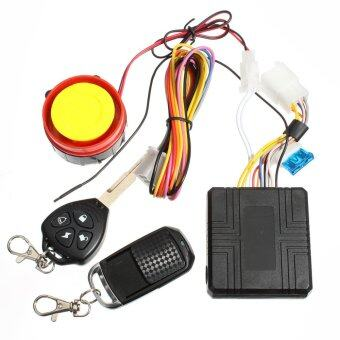 Harga Motorcycle Motorbike Scooter Compact Security Alarm System Remote Control Engine Start for Suzuki Honda Yamaha 12v Universal- Intl