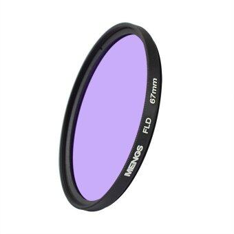 Harga MENGS® 67mm FLD Fluorescent Filter With Aluminum Frame For Canon / Sony / Nikon / Fuji / Pentax / Olympus Etc Digital Camera
