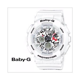 Harga นาฬิกา CASIO Baby-G BA-120KT-7ADR Hello Kitty Limited Edition