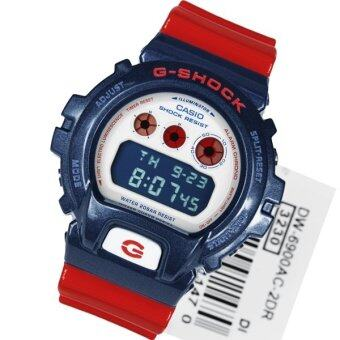 Harga Casio G-Shock DW-6900AC-2DR Red/Blue
