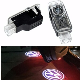 LED Laser Projector Car Courtesy Logo Light For Volkswagen VW Passat B5 B5.5 Phaeton 2000-2010 - intl