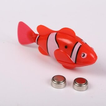 New Baby Swimming Robot Fish Magical Electronic Toy Kids ChildChildren Gift - intl