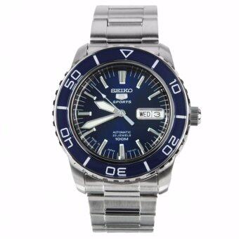 Seiko 5 Series Automatic Blue Dial Diver Watch SNZH53J1 Made inJapan