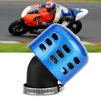 YOSOO 35mm Modified Air Filter Set for 100-150CC Motorcycle Motorbike Blue - intl