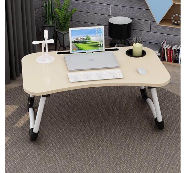 ❄️พร้อมส่ง❄️โต๊ะ โต๊ะพับ โต๊ะวางโน๊ตบุค โต๊ะคอม พับเก็บได้ โต๊ะเขียนหนังสือ วางโทรศัพท์ ipad/มีที่วางแก้ว/ ไม่มีทีวาง