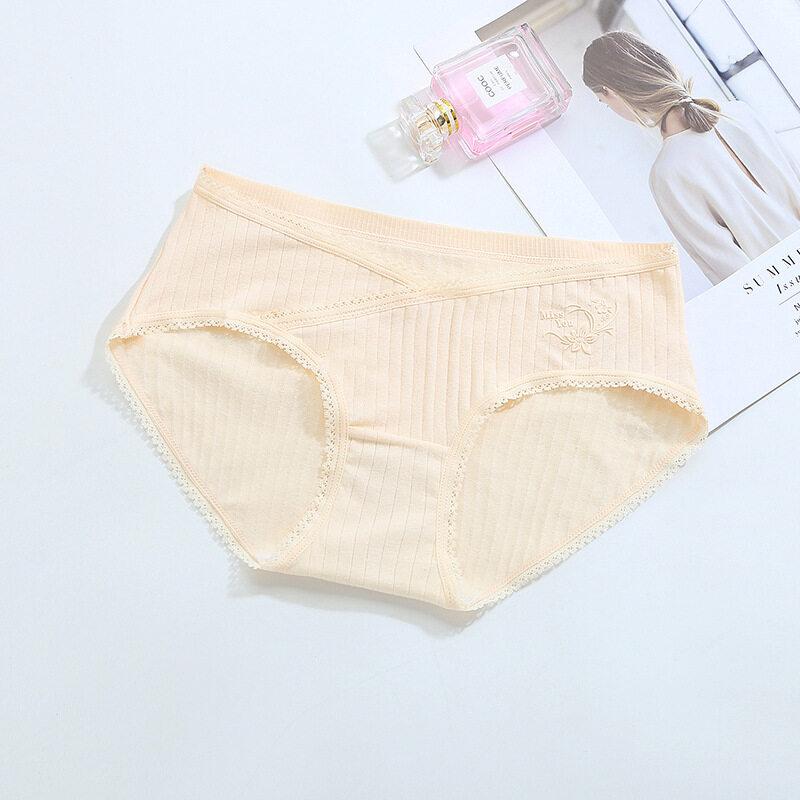 พร้อมส่ง!!! กางเกงในคนท้องพยุงครรภ์ กางเกงในคนท้องไร้ขอบ มีแบบเอวสูงและแบบเอวต่ำ ใส่สบาย