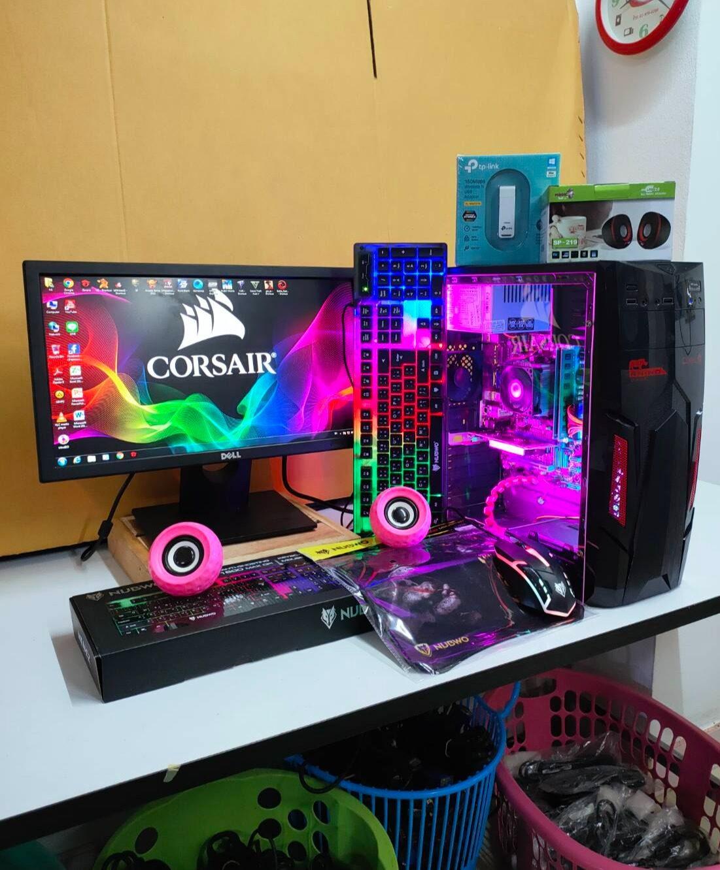 คอมพิวเตอร์เล่นเกมส์แรงๆ Pubg Lite Fifa4 Pubg Mobile Hon Pb Sf Free Fire Gta Warz.