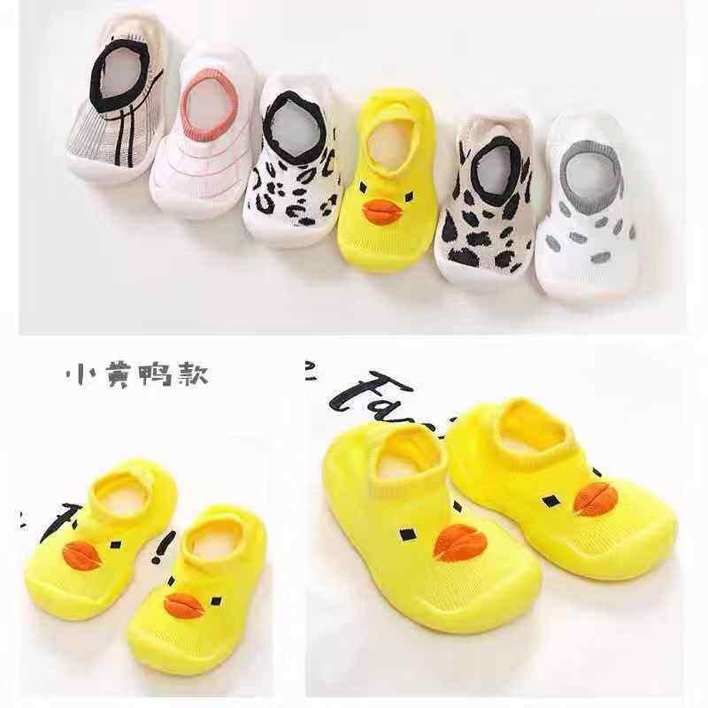 Baby Nong พร้อมส่งจากไทย! เด็กรองเท้าเด็กชายหญิง น่ารักลื่น มี14ราย 4ไซด์ เข้ารูปพอดีกับขนาดจริง ยางด้านล่างรองเท้าถัก