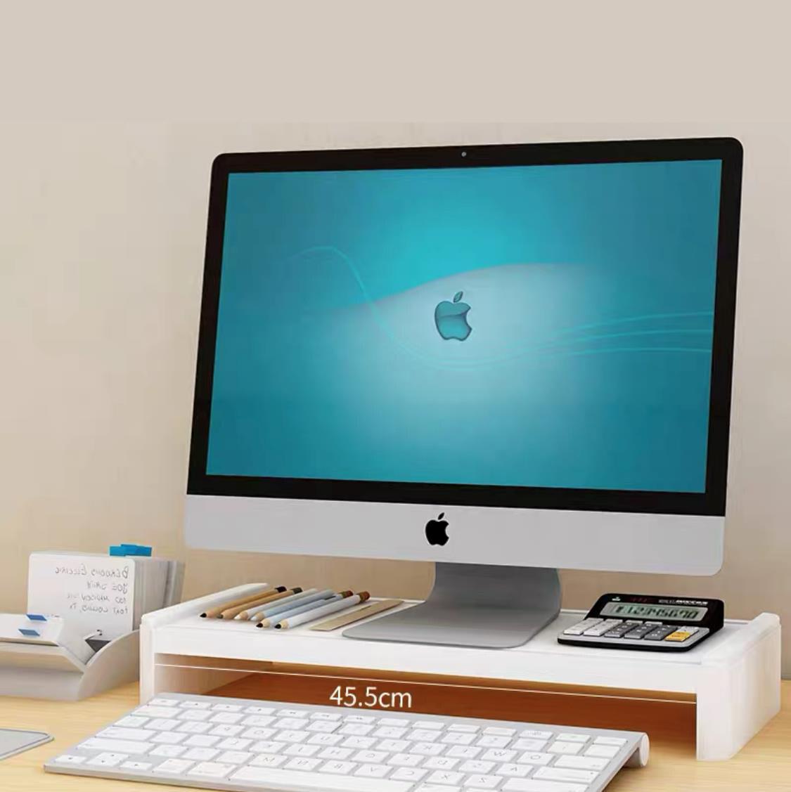 HEINOชั้นวางจอคอมพิวเตอร์ วางโน๊ตบุ๊ค จัดชุดพร้อมลิ้นชัก มี4สี โต๊ะตั้งคอม ชั้นวางของสำหรับทำงาน ชั้นวางหนังสือ โต๊เขียนหนังสือ ใช้งานได้หลายรูปแบบ