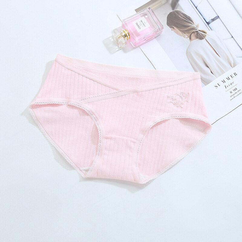 พร้อมส่ง!!! กางเกงในคนท้องพยุงครรภ์ กางเกงในคนท้องไร้ขอบ มีแบบเอวสูงและแบบเอวต่ำ ใส่สบาย.