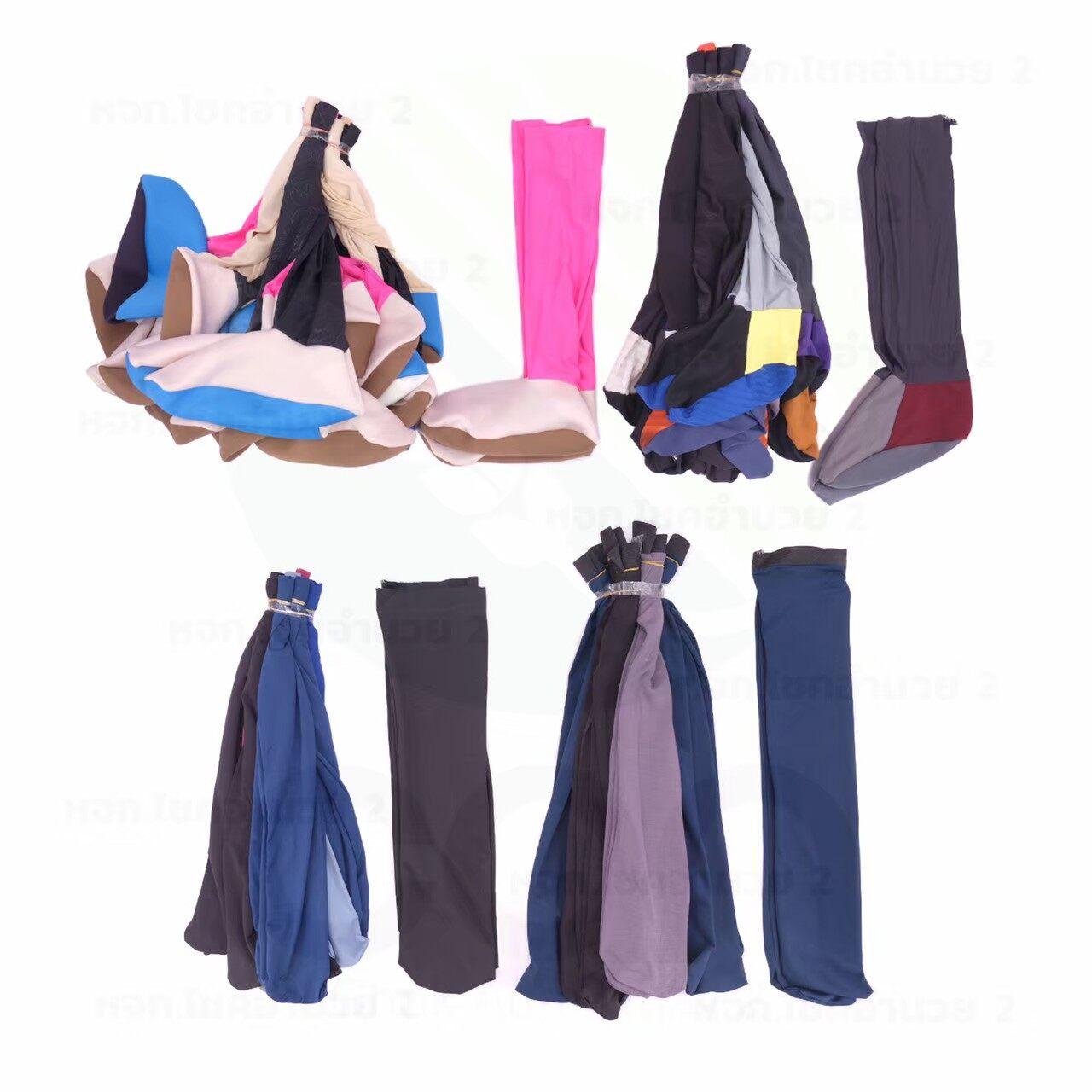 (ยกมัด 10 คู่) ถุงเท้ากันหอย คละสี ถุงเท้าทำนา ถุงเท้าลงนา ถุงเท้าตีนเป็ด คละสี.