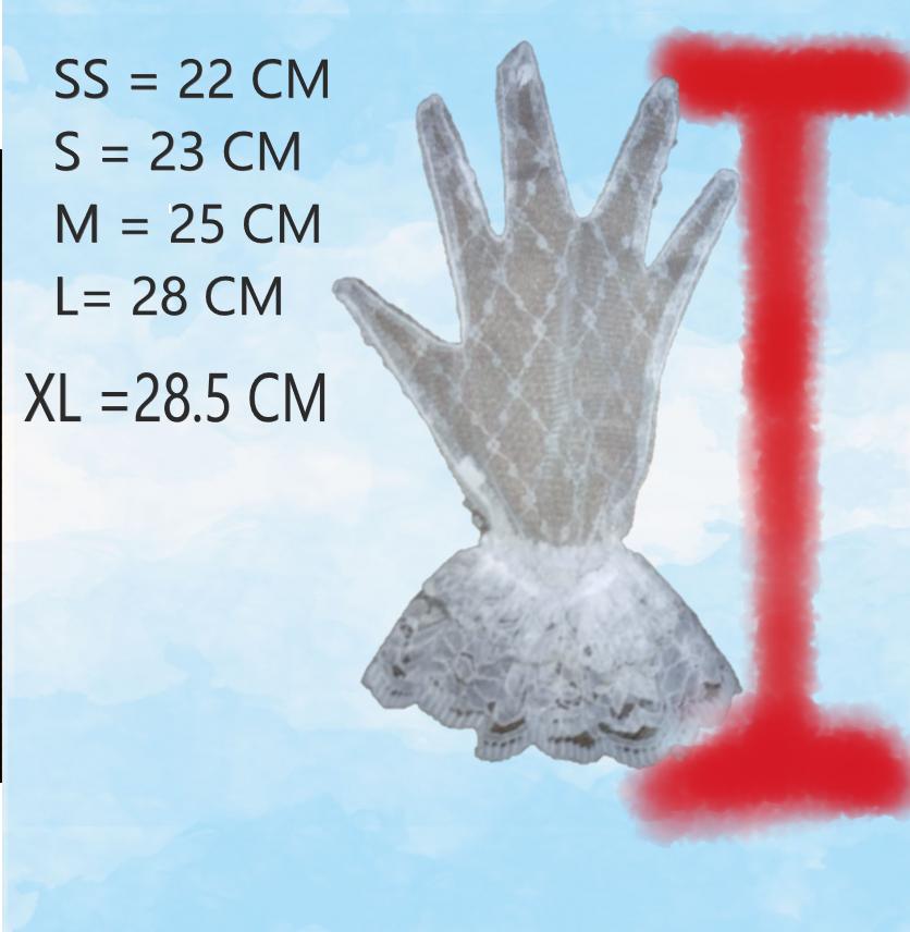 ถุงมือลูกไม้ตาข่าย สำหรับเด็ก-ผู้ใหญ่ เลือกไซต์เลือกสีได้ (มีการรับประกันจากผุ้ขาย มีบริการเก็บเงินปลายทาง)