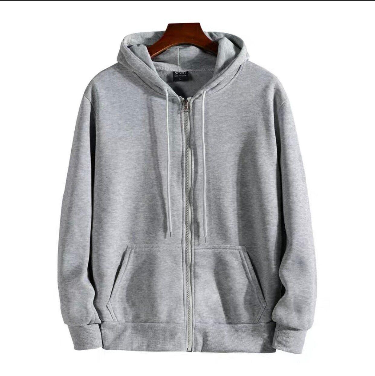 ? สินค้ามาใหม่ เสื้อแจ็คเก็ตมีฮู้ด ผ้าสำลีกันหนาวได้ งานสวยตัดเย็บเนี๊ยบๆ (จ่ายเงินปลายทางได้).