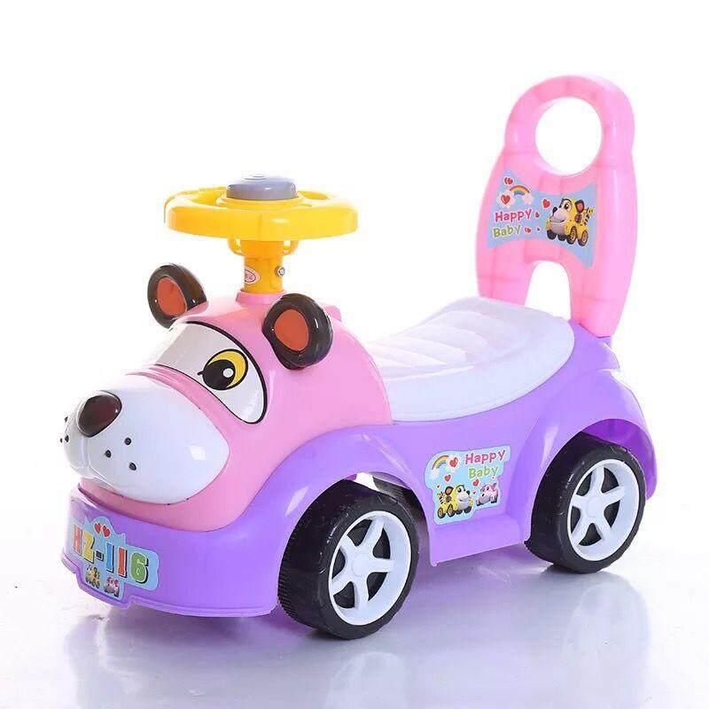 รถขาไถเด็ก มีเสียงเพลง เบาะนั่งเปิดปิดได้