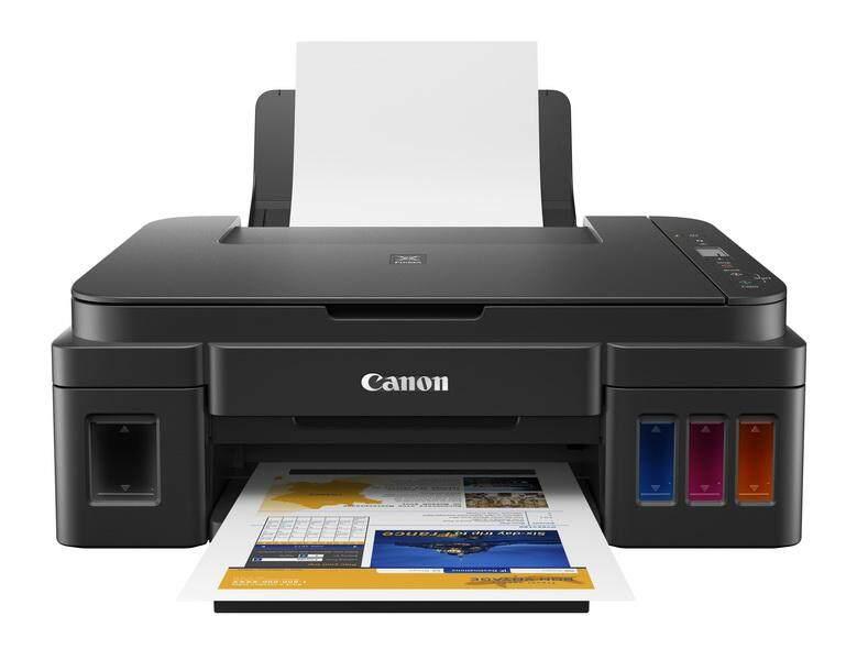 Printer Canon G2010 ใหม100%(ลดราคาถึงสินเดือนนี้)❤ เครื่อง+หัวพิมพ์+หมึก ครบชุด.