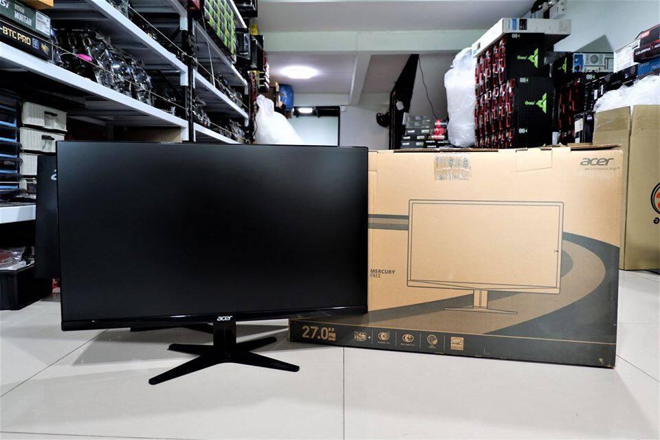 จอ Acer Ips 27 G277hl ไร้ขอบ สวยๆ A+.