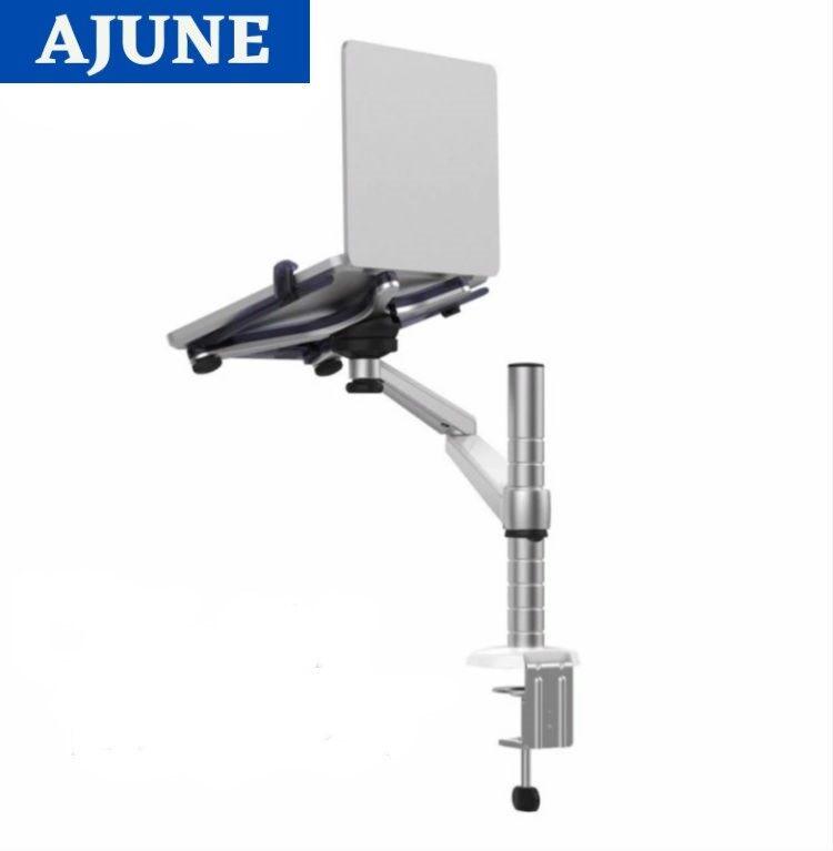 Ajune ขาวาง โน๊ตบุ๊ค หรือ Ipad แบบยึดขอบโต๊ะ รุ่น Lts-412 (high Quality) (มี 1 แขน, ใช้กับโน๊ตบุ๊ค,tablet หรือ Ipad) (มีสินค้าพร้อมส่ง).