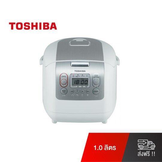 Toshiba หม้อหุงข้าวดิจิตอล รุ่น RC-10NMF(WT)A ความจุ 1 ลิตร (สีขาว)