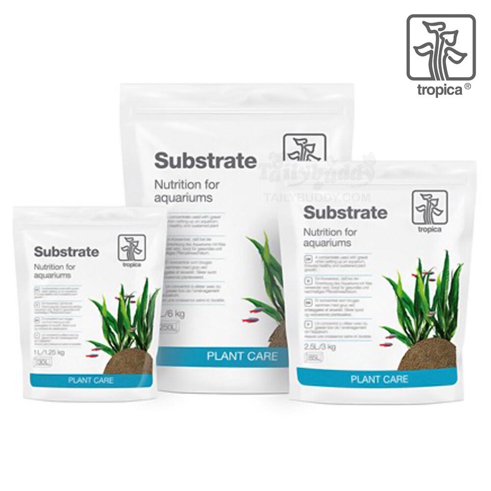 1L - Tropica Substrate ซับสเตท วัสดุปลูกรองพื้นตู้ไม้น้ำ ให้สารอาหารกับต้นไม้ในระยะยาว (1L 2.5L 5L )