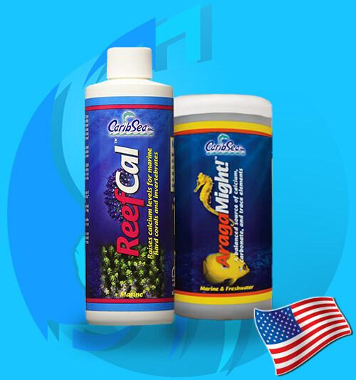 แคลเซียม สำหรับปลาและปะการัง แบบน้ำและผง CaribSea ReefCal AragaMight liquid calcium powder calcium