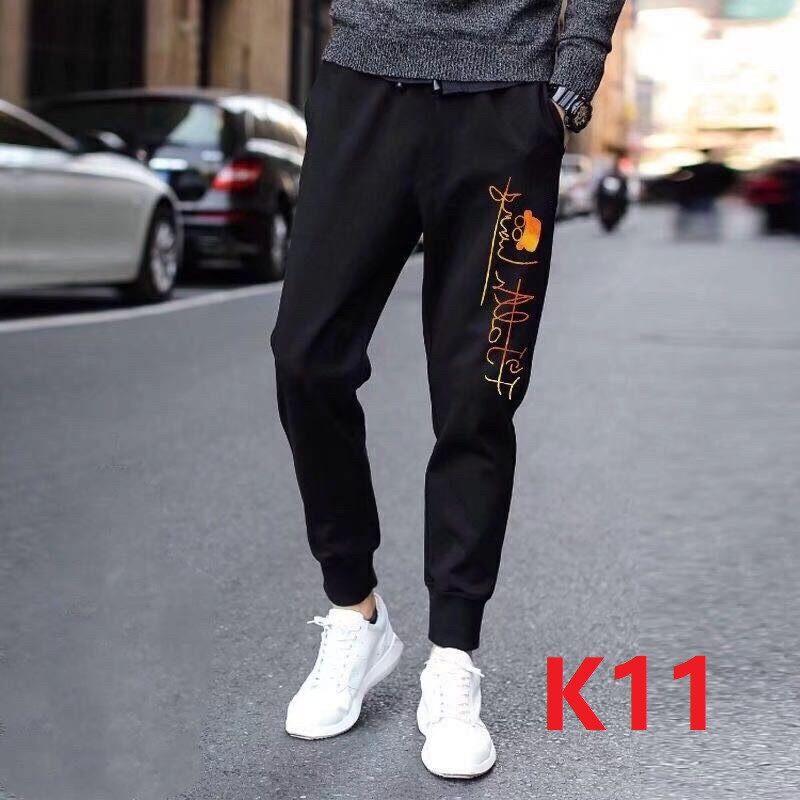 กางเกงขายาว กางเกงวอร์ม กางเกงผู้ชาย ลำลอง สไตล์อาร์ตๆทันสมัย เนื้อผ้าดีใส่สบายไม่ร้อนผู้หญิงผู้ชายใส่ได้ สินค้าพร้อมส่งค่ะ
