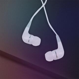 HHK345 Tai nghe dây tròn màu đen máy tính di động MP3 tai nghe nhạc Tai nghe in-ear 3.5mm thumbnail