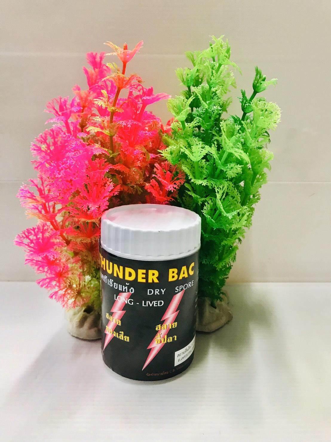 แบคทีเรียแห้ง 50 กรัม Thunder bac 50g จุลินทรีย์ ทันเดอร์แบคผง