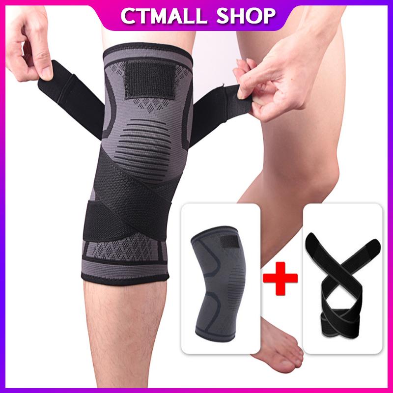 (1ชิ้น) สนับเข่าเล่นกีฬา Sports Knee Pads ระบายอากาศได้ดี ช่วยบรรเทาอาการปวด ที่รัดเข่า( 1ชิ้น)สนับเข่า สายรัดเข่า พยุงเข่า ป้องกันอาการบาดเจ็บ.