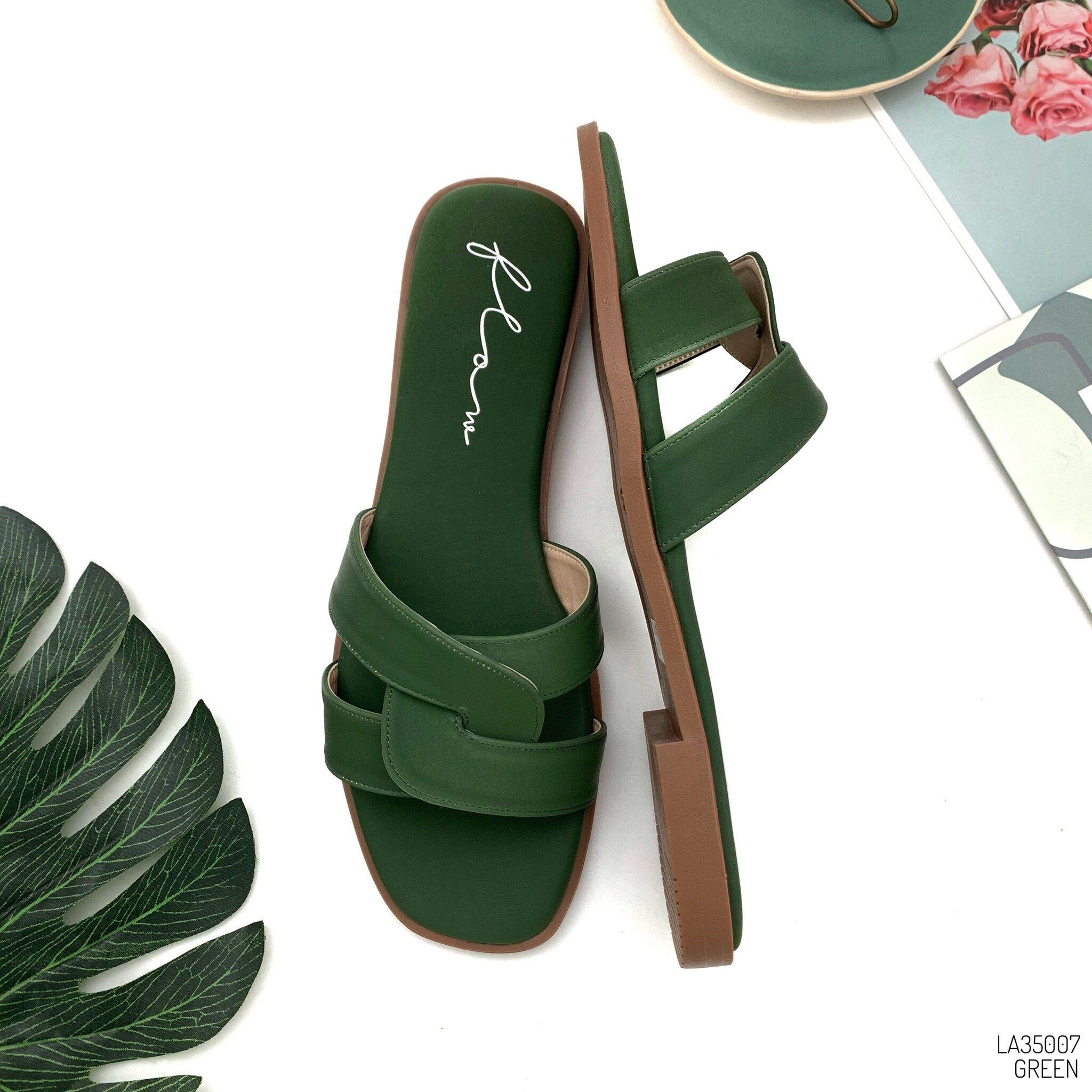 HaloBangkok รองเท้า Sandals หนังพียู รุ่น LA35007