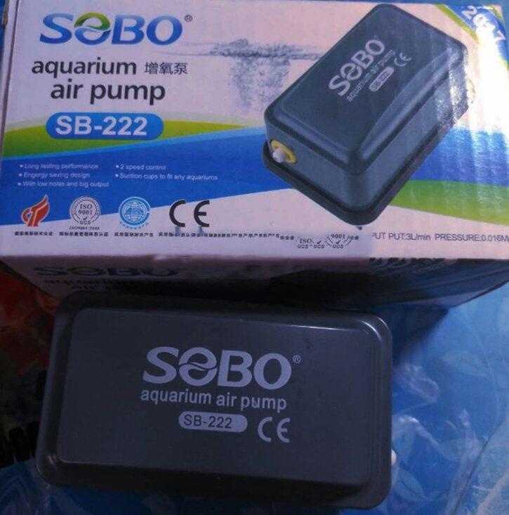 SOBO SB 108 ปั๊มลม ปั๊มอ๊อกซิเจน