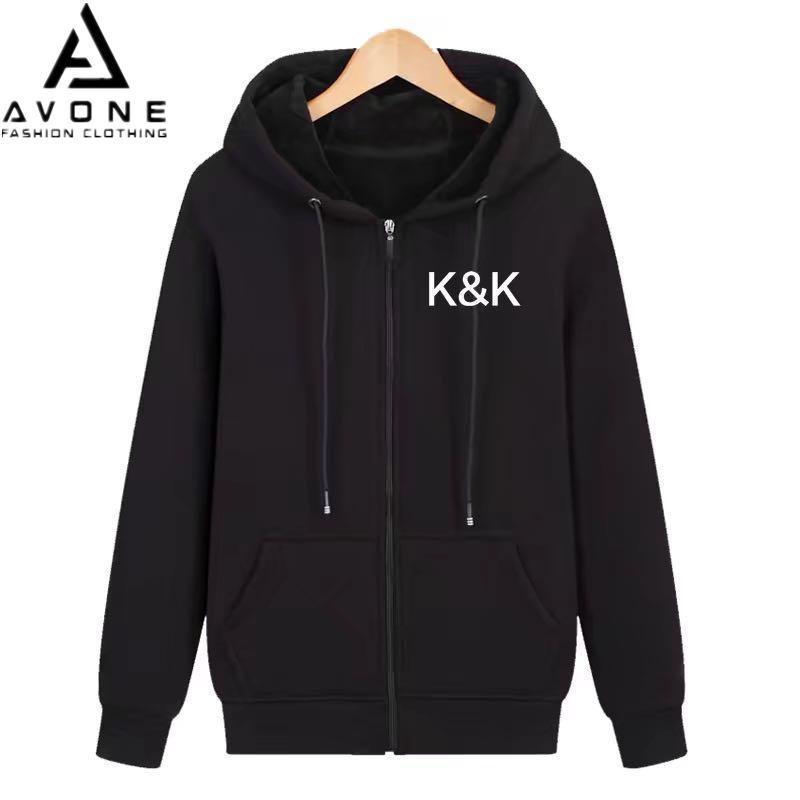 K.A SHOP ใหญ่,หนา,ผ้าดี เสื้อฮู้ดแฟชั่น สำหรับหญิงชาย สินค้ามาใหม่สำหรับฤดูหนาว 0027-KK