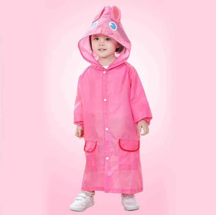 เสื้อกันฝนเด็ก สำหรับเด็ก 2ขวบ -5ขวบ ( 1ตัว ) ชุดกันฝนเด็ก ลายการ์ตูน ผ้าดี ไม่ใช่ใช้ครั้งเดียวใช้ได้หลายครั้ง สุดการ์ตูนน่ารัก.